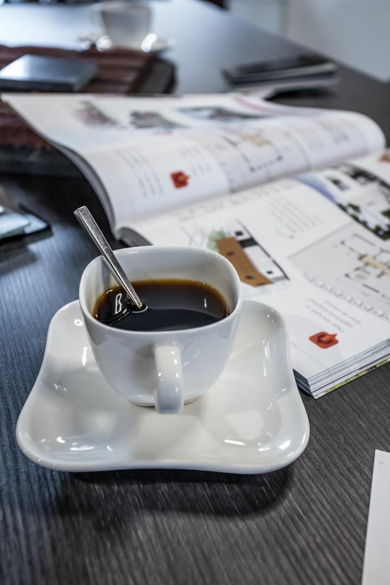 Kopje koffie tijdens één van onze SelektEvents