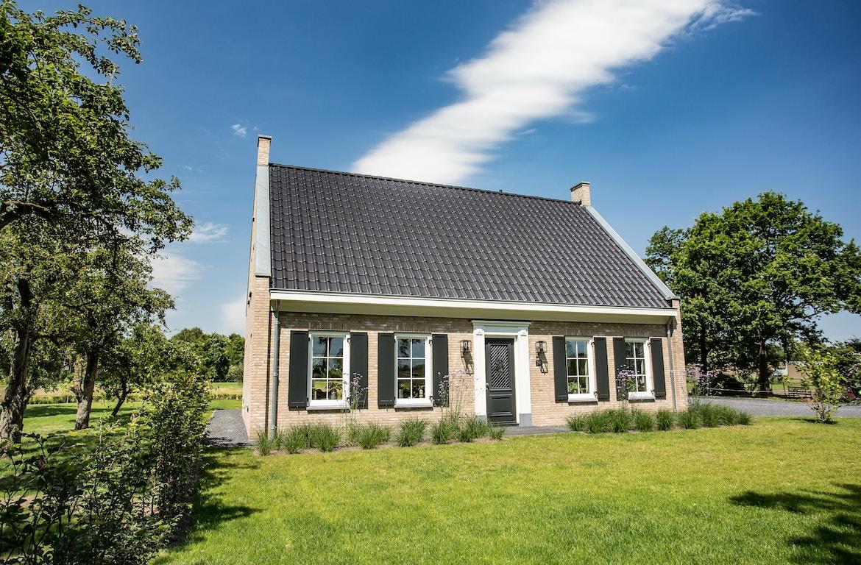 Vooraanzicht van een Cottage met landelijke twist
