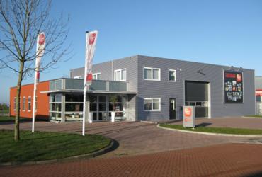 Het gebouw van de vestiging van SelektHuis in Sneek