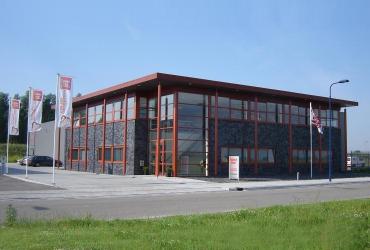 Gebouw van de vestiging van SelektHuis in Tholen