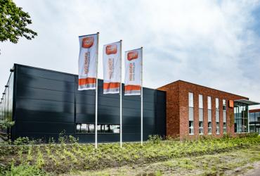 Afbeelding van het gebouw van de vestiging in Hedel